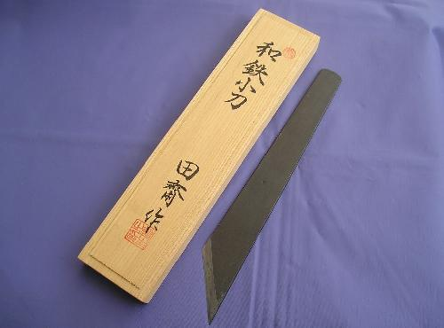 Bookbinder's paring knife by Tasai